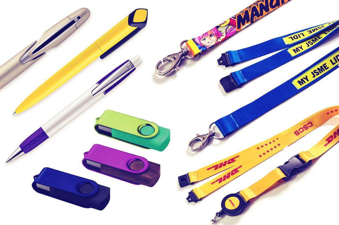 Διαφημιστικά Δώρα. Diafimistika Dora. Lanyards, usb sticks and pens.