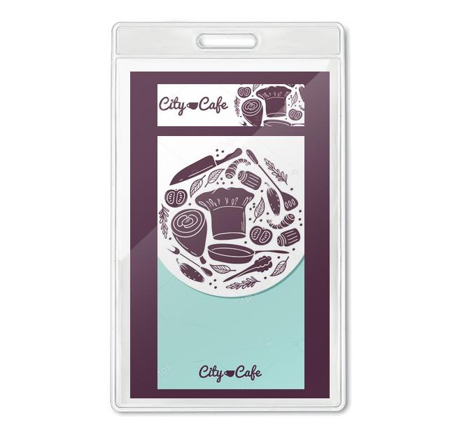 Πλαστικές Θήκες BG8600. Πλαστικές θήκες συνεδρίων Πλαστική θήκη καρτας