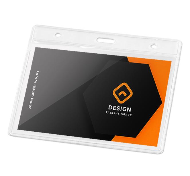 Πλαστικές Θήκες BG93357. Πλαστικές θήκες συνεδρίων Πλαστική θήκη καρτας