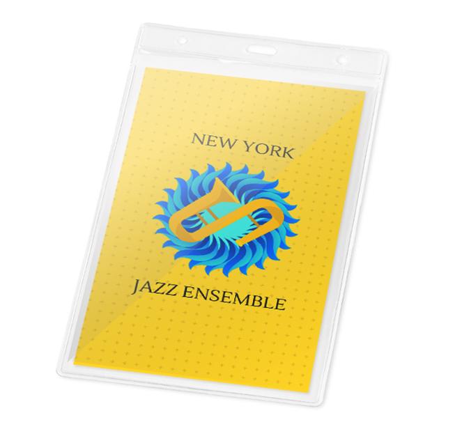 Πλαστικές Θήκες BG93359. Πλαστικές θήκες συνεδρίων Πλαστική θήκη καρτας