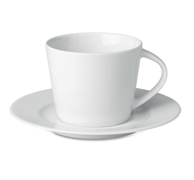 Cappuccino Κούπα με Πιατάκι KU9080